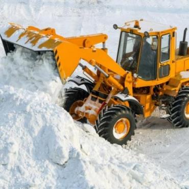 24 января уборка снега в кооперативе