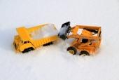 11 апреля уборка снега в кооперативе
